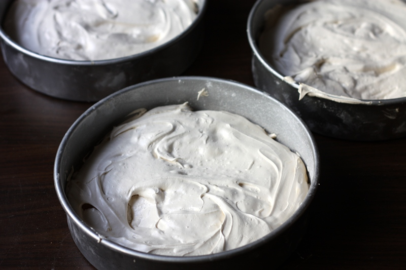 Triple-layer Brown Sugar Pavlova – adapted from Gourmet