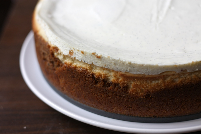 vanilla bean cheesecake | one cake two cake