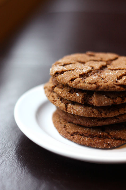 Molasses Spice Cookies – adapted from Simply Recipes